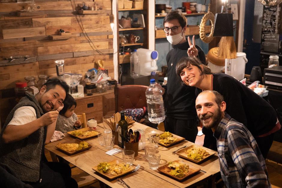暮らす実験室IKI 国際交流な晩御飯